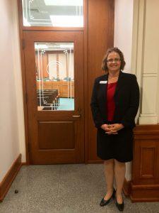 Dr. Neumann at the Texas Capitol