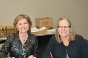 Renee Permann, Lena Pope Home with Susan Chincarini, St. Mary's