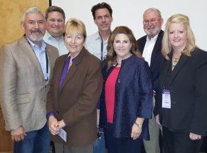 Back row: Brent Wilson, William Clark, Eddie Conger; Front row: Alfredo Segura, Becky Good, Jennifer Goodman, and Brandy Schott