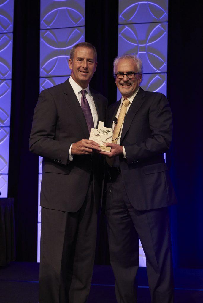 Chairman Jim Murphy with David Dunn