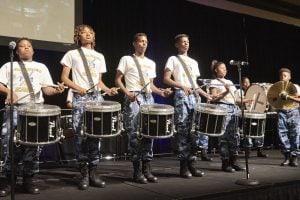 Faith Family Academy's Drum Line